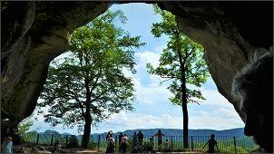 Fastenwandern in der Sächsischen Schweiz Kuhstall