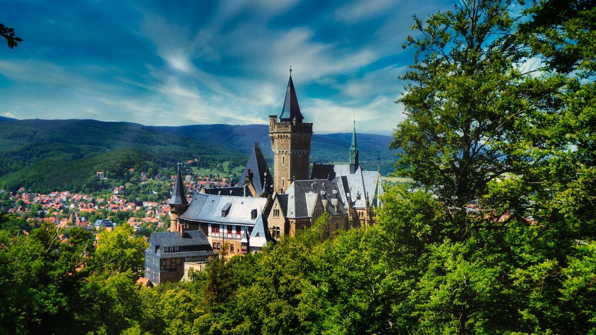 Fastenwandern im Harz - Schloss